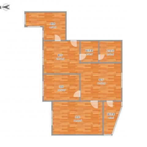 水星阁2室3厅1卫1厨110.00㎡户型图