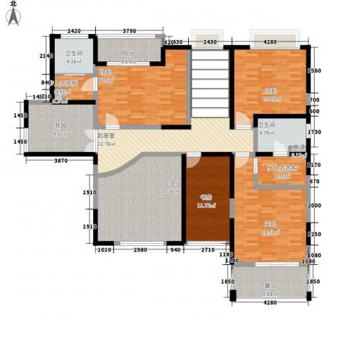天润碧海湾4室0厅2卫0厨338.00㎡户型图