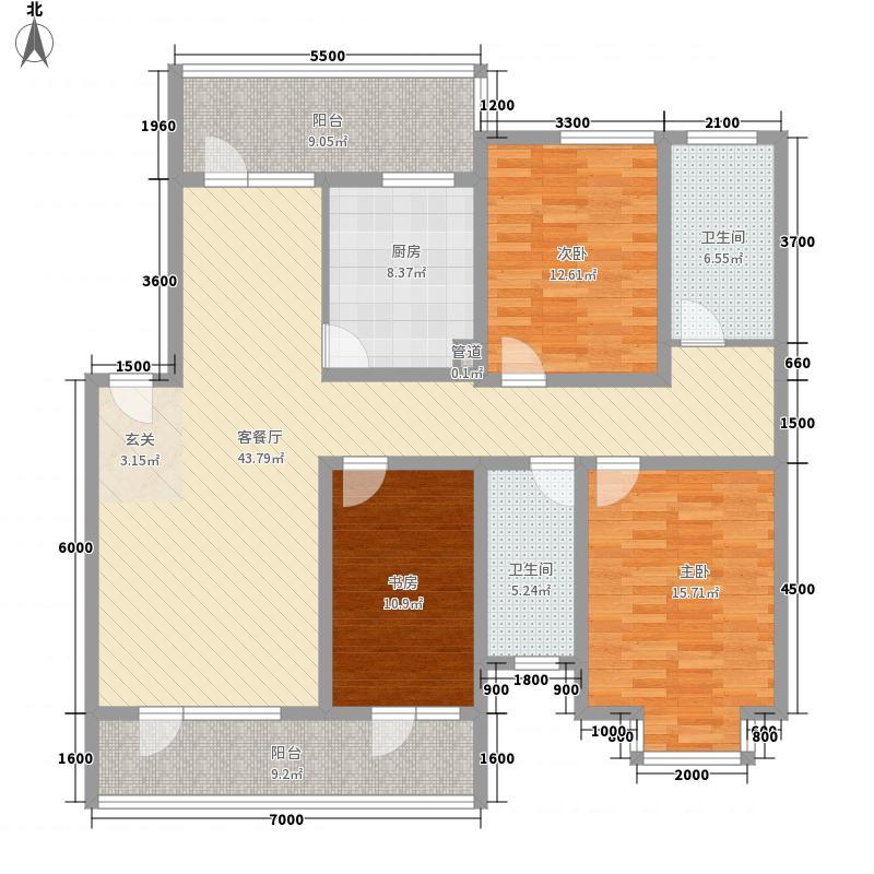 金海岸皇玛户型4室
