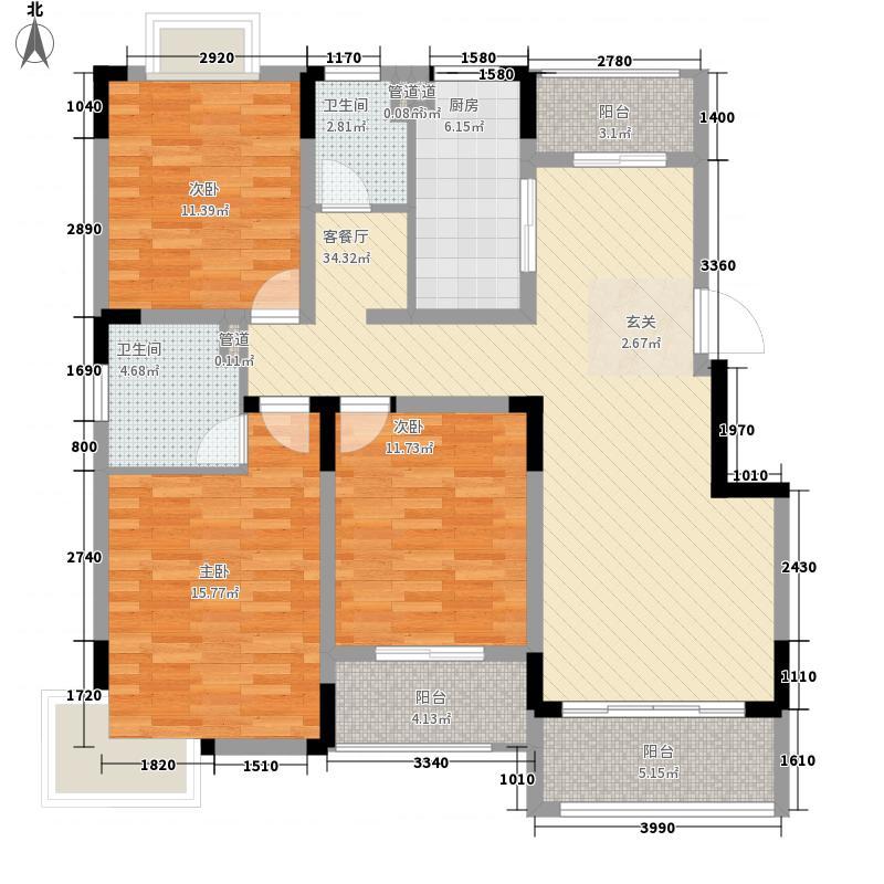 格格屋58.00㎡户型1室