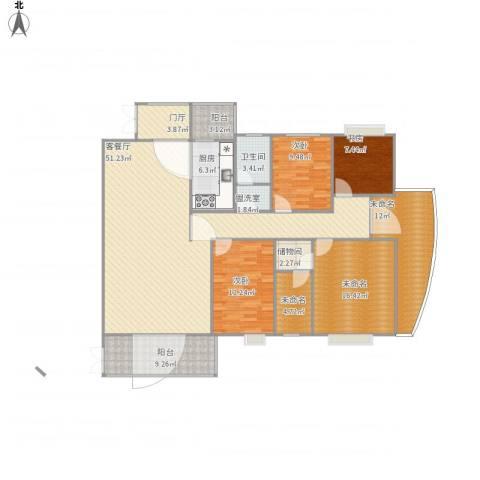 水云间3室2厅1卫1厨194.00㎡户型图