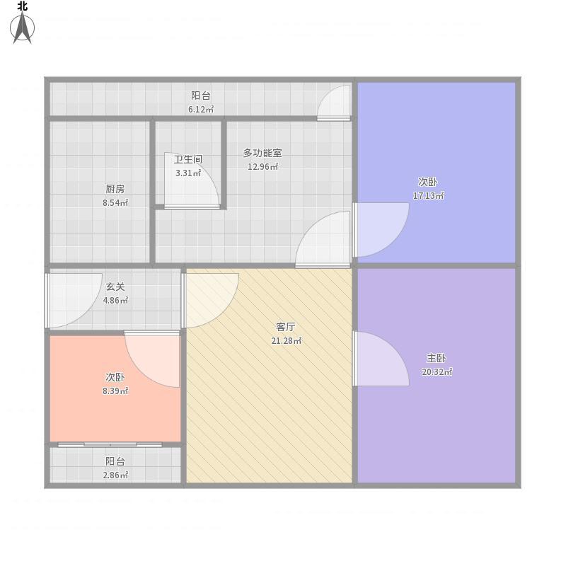 自贡_旭川中学旁6楼114平米_2015-09-08-1127