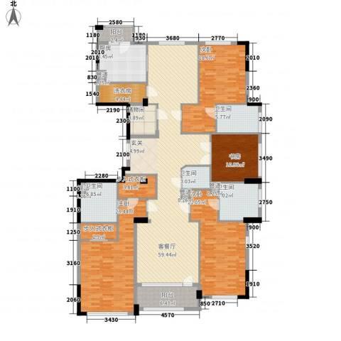 荣合公馆4室1厅4卫1厨212.00㎡户型图