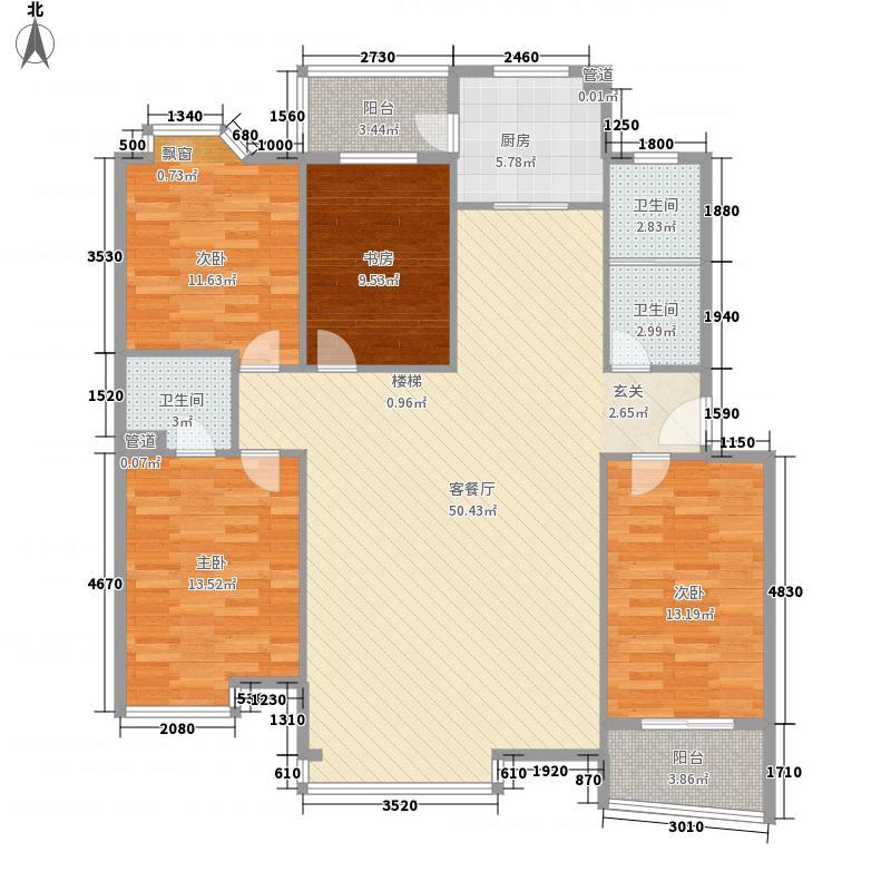 文豪苑164.87㎡面积16487m户型
