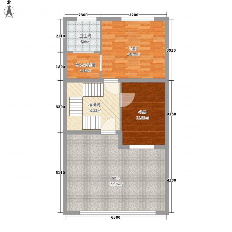 原乡梦得惜诺2室0厅1卫0厨214.00㎡户型图