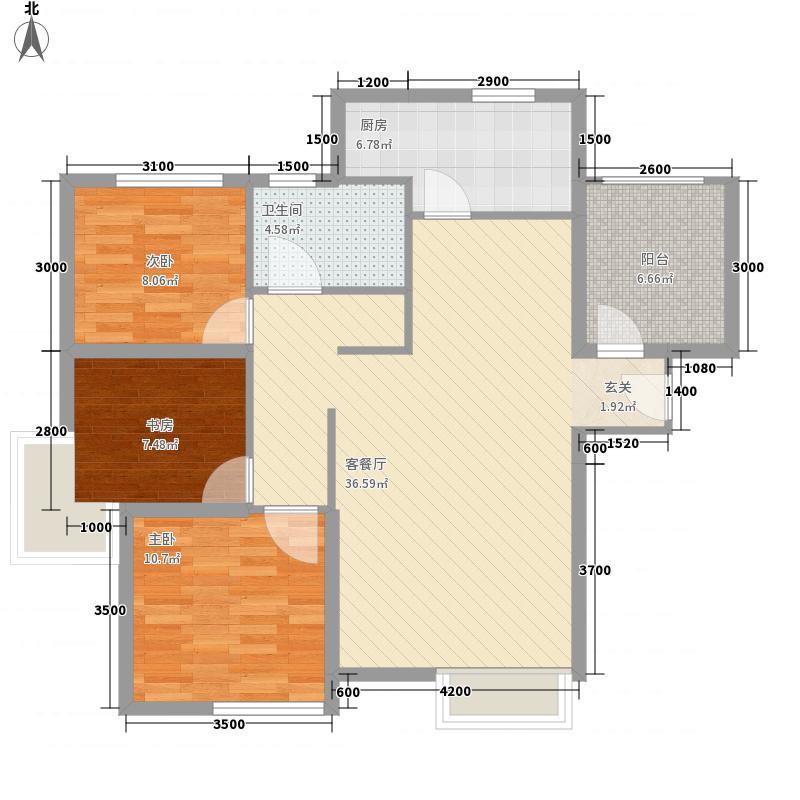 维多利亚湾314.43㎡户型3室2厅1卫1厨