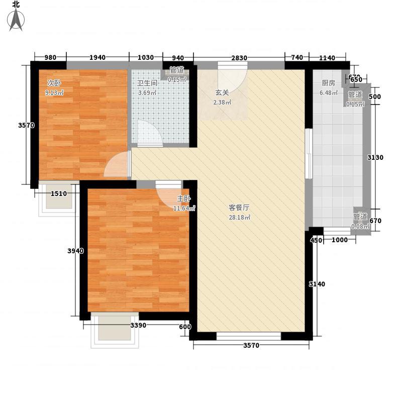 得胜街小区4户型2室2厅1卫1厨