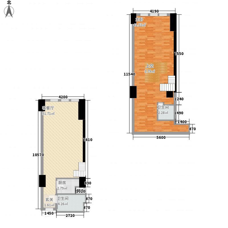 万和新城广场58.59㎡万和新城广场户型图P72室2厅2卫1厨户型2室2厅2卫1厨