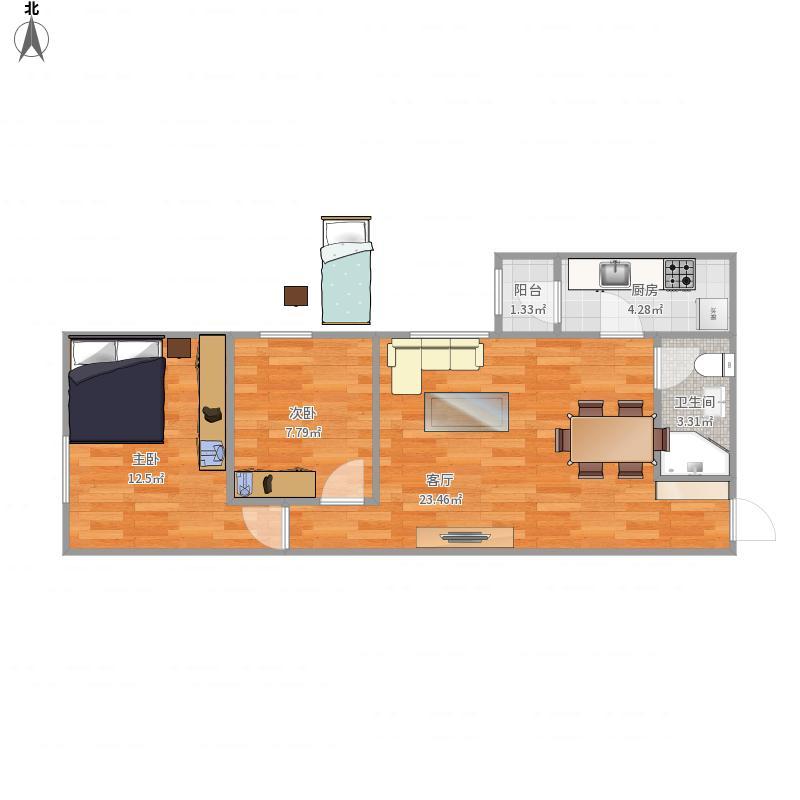 弘善家园两室一厅