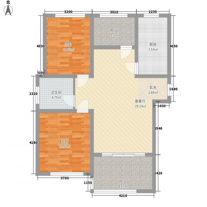 香格特区115.00㎡G1户型3室2厅1卫1厨