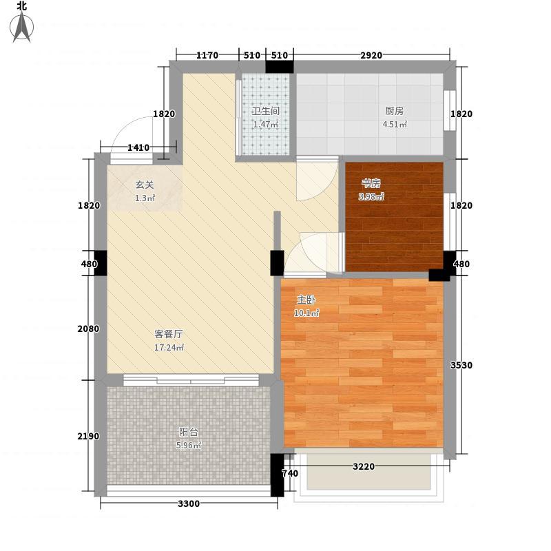 武夷山自驾游营地256.20㎡A户型2室1厅1卫