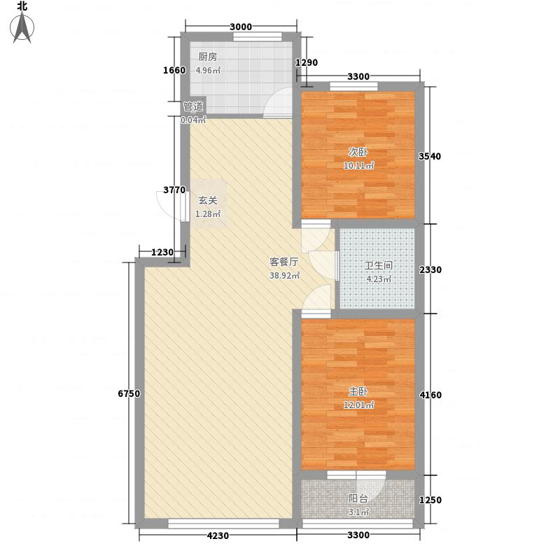 沈铁・青橙社区9#楼_t3-Model户型
