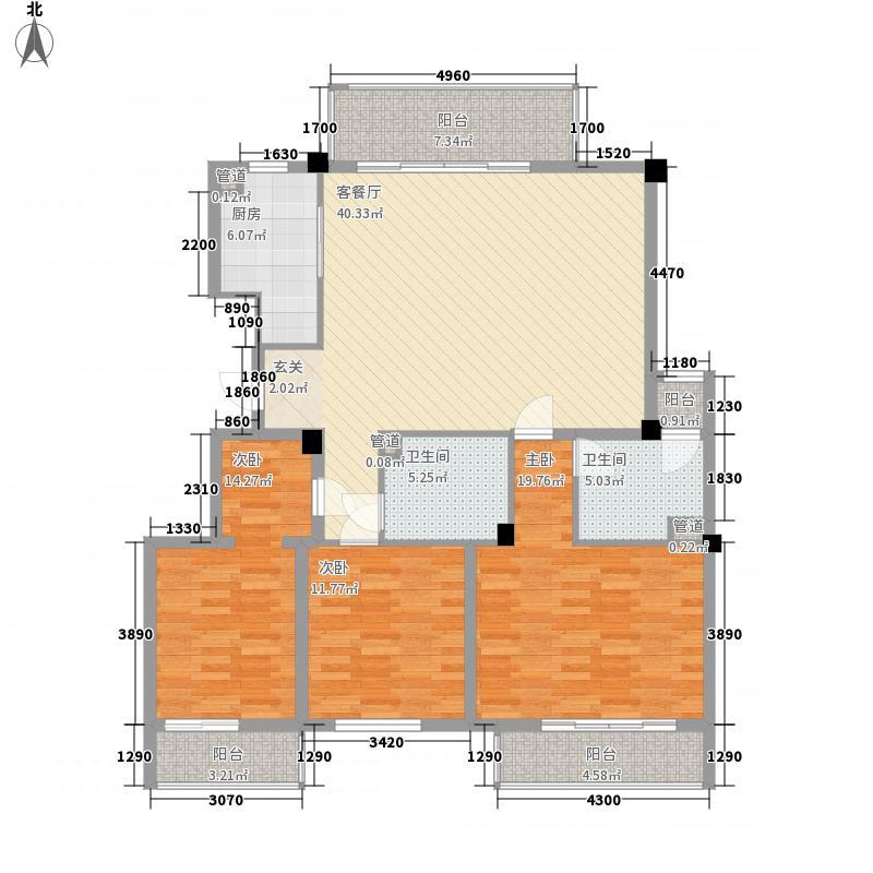 三泰丽园户型3室