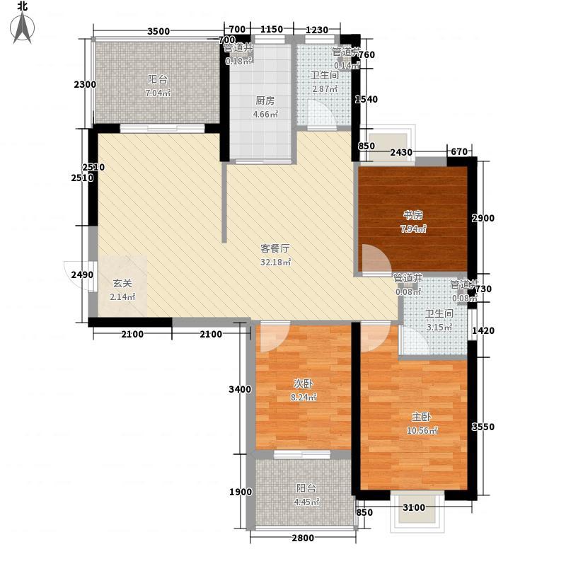 东新豪园111.00㎡户型