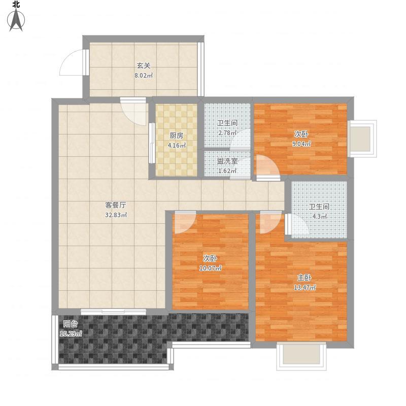 东城经典6号楼B5户型