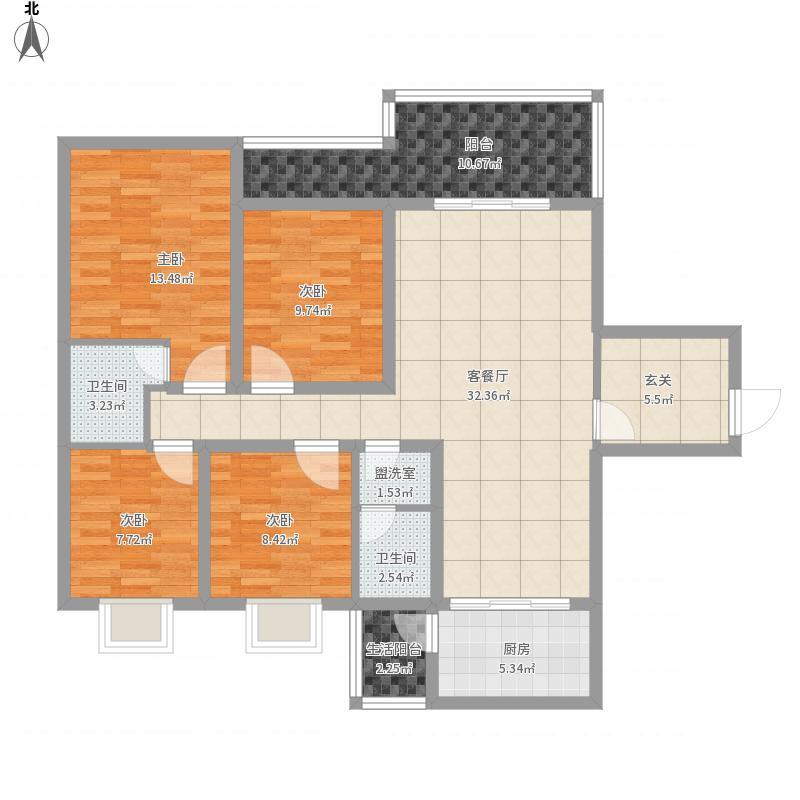 东城经典3号楼D1户型
