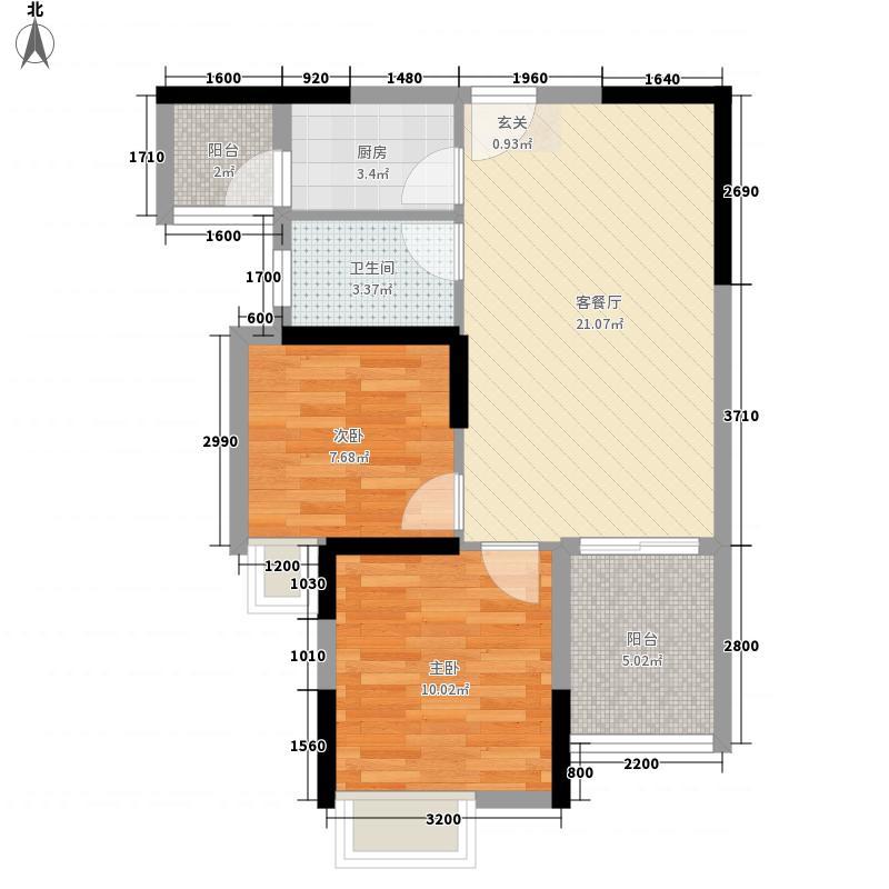 保利公园九里12B、15、16、17、18#楼3-H户型