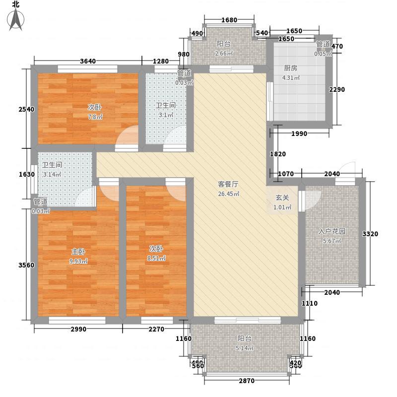 文教路电信宿舍113.00㎡户型2室