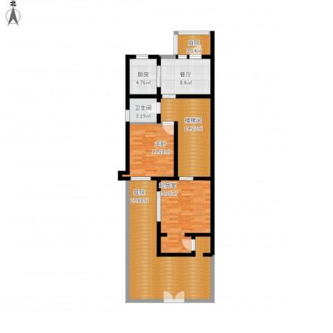 世茂・萨拉曼卡1室1厅1卫1厨129.00㎡户型图