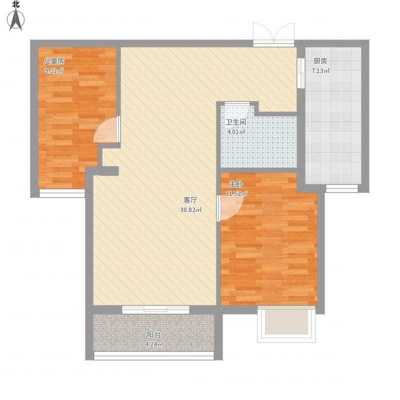 水榭花都两室一两厅一厨一卫