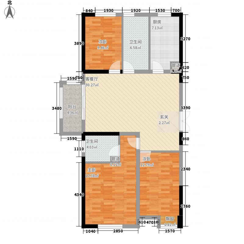 新洲・欧洲城13.83㎡1户型3室2厅2卫1厨