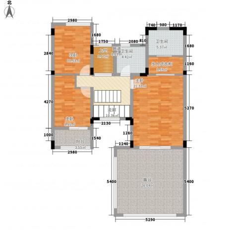 万科棠樾3室0厅2卫0厨140.00㎡户型图