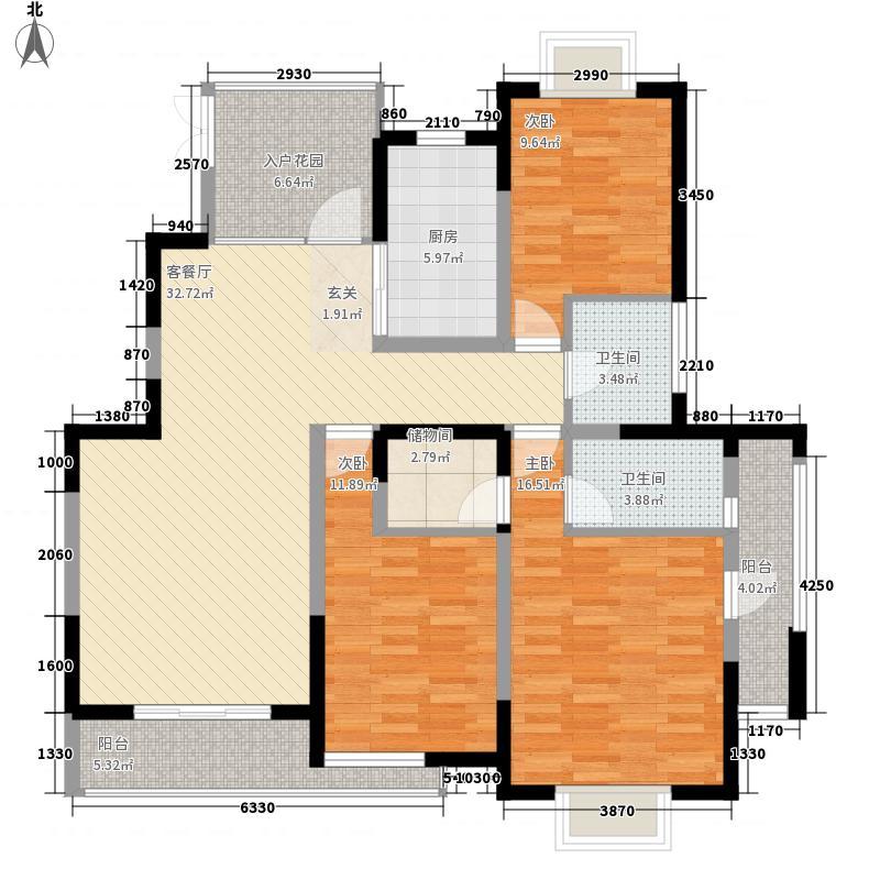 天元奥林商务公寓户型