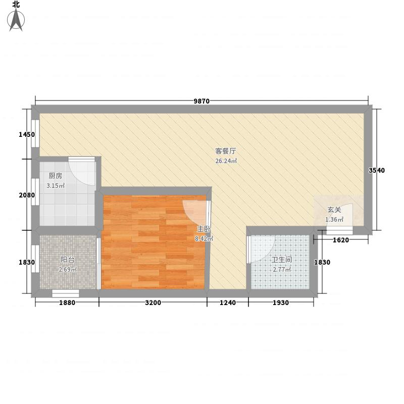 天麒家园天麒公寓户型