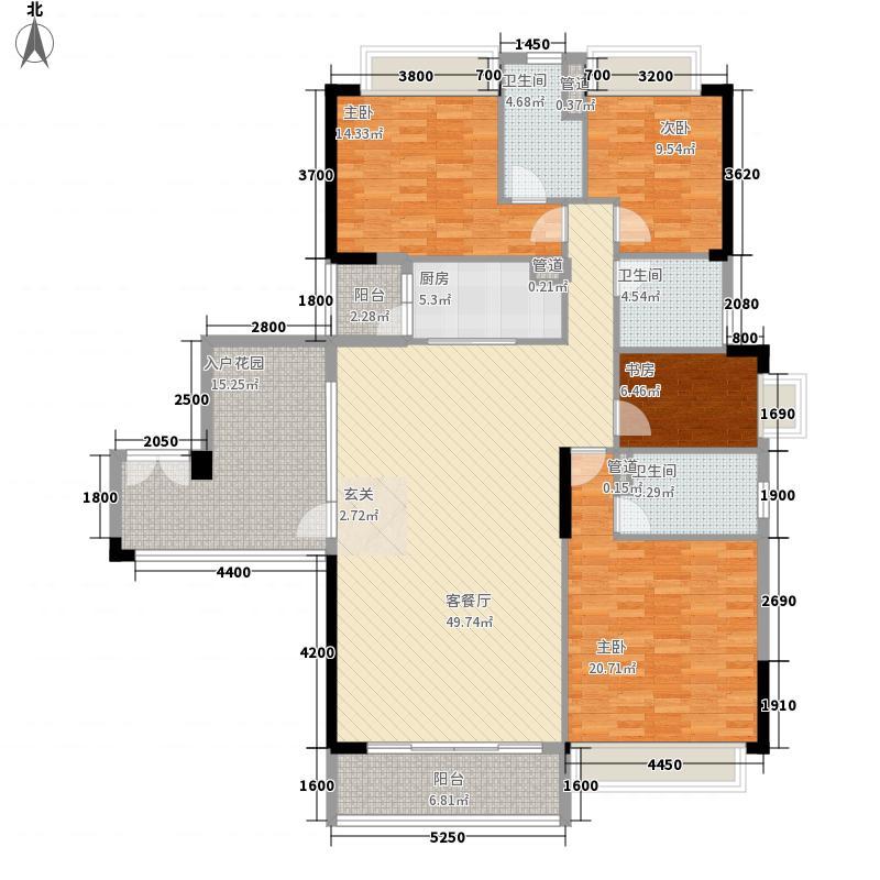 奥园海景城17.58㎡A2栋01单位_nEO_IMG户型4室2厅3卫1厨
