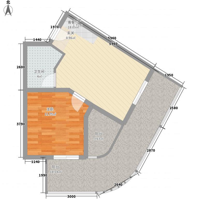 当代东戴河白金海MOMA1#5#8#11#住宅Y-H户型