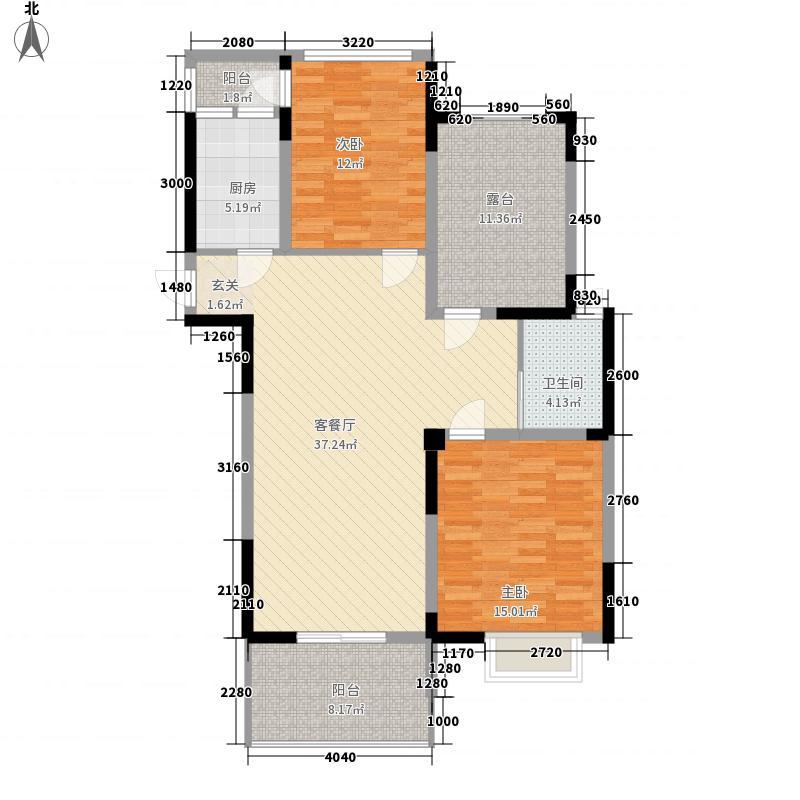 两室一厅户型图3