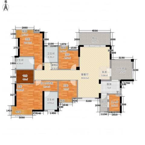 香市1号(寮步)5室1厅3卫0厨196.00㎡户型图
