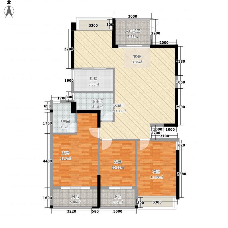 宝信城市广场121515.20㎡12#/15#/18#楼02/03单元3室户型3室2厅2卫1厨