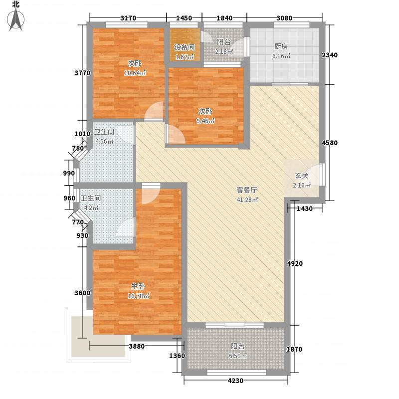 骏景中央公园146.60㎡18#、19#、20#户型