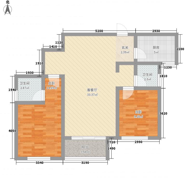 金水湖花园12.82㎡户型