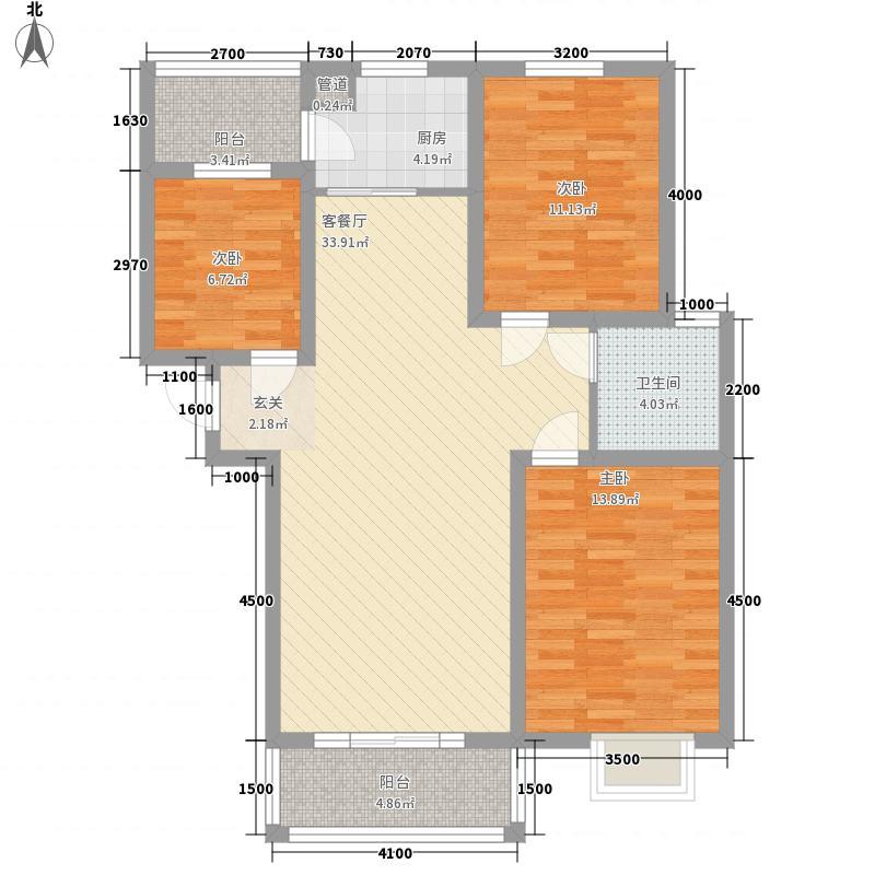 盛世丁陶-22户型3室2厅2卫1厨