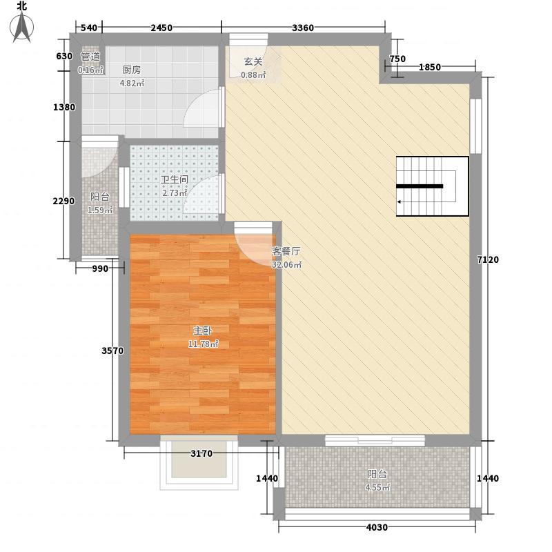 健发・御园163.50㎡健发11#楼C2拼房做户型3室3厅3卫1厨