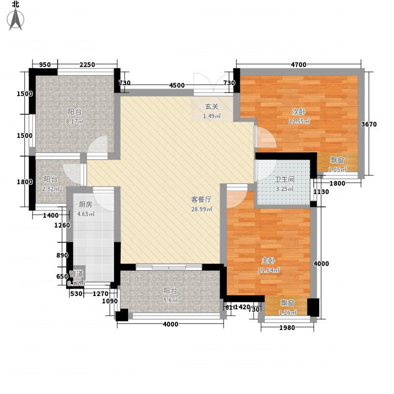 罗浮南山美庐288.62㎡F210栋户型