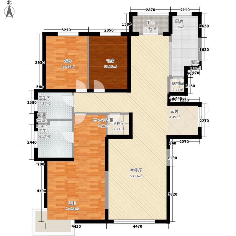 银河丽湾二期丽湾上品175.88㎡银河丽湾二期丽湾上品户型图D户型3室2厅3卫户型3室2厅3卫