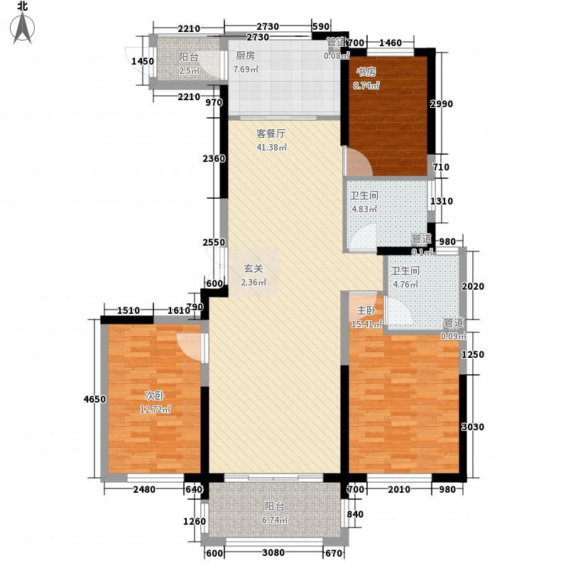 滕商奥体花园148.20㎡D2户型3室2厅2卫1厨