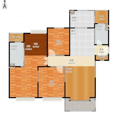 合生财富海景公馆3室1厅7卫1厨200.00㎡户型图