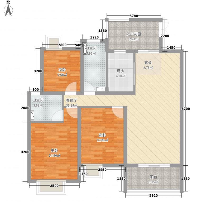 梅园公寓18.00㎡户型2室