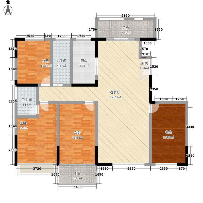 复兴社区198m²户型
