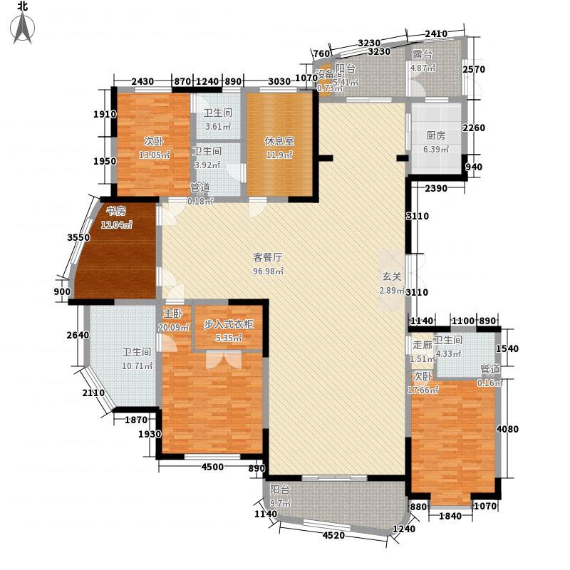 黄金国际D区12#楼标准层D户型