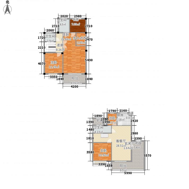 永兴花园P20-P21户型3室2厅2卫1厨