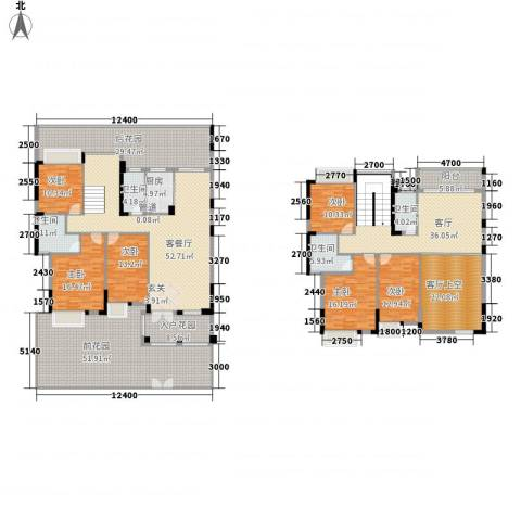 时代花园6室2厅4卫1厨343.00㎡户型图