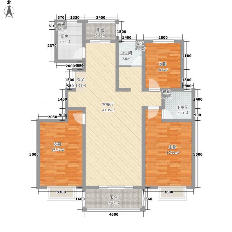 七里河畔214.20㎡七里IMG_20141029_户型3室2厅2卫1厨