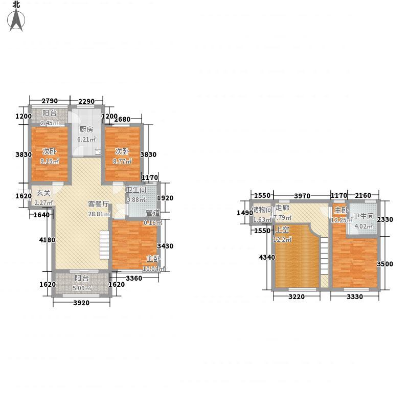 中冶・滨江国际城165.00㎡G5户型4室2厅2卫