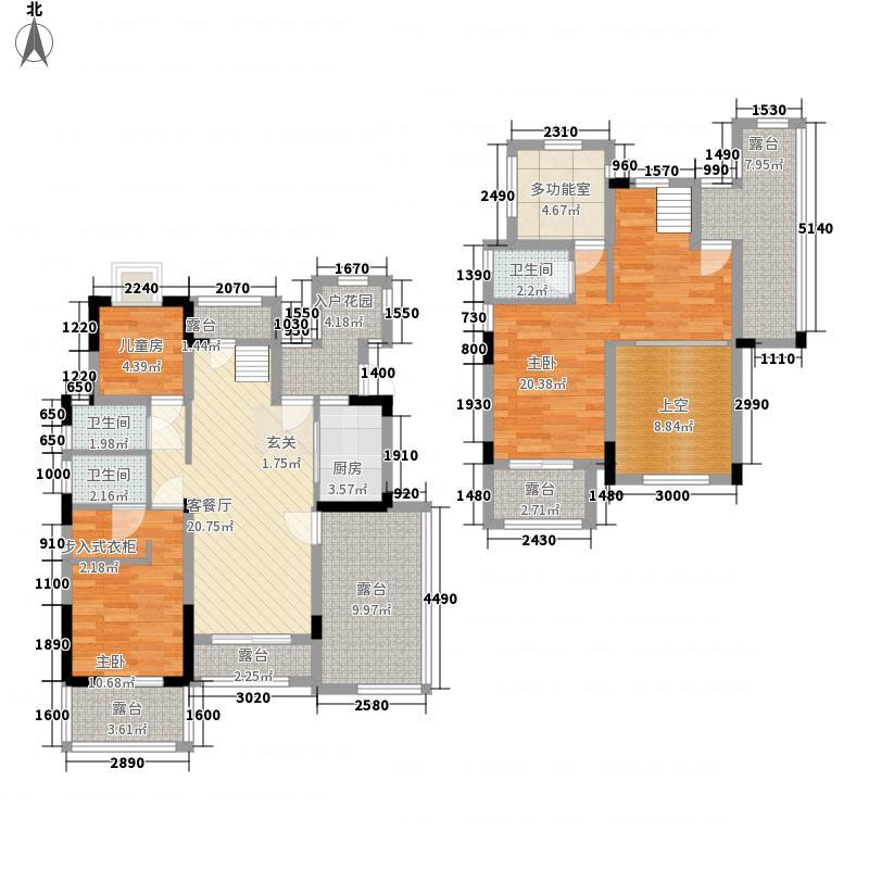 中交香滨国际7#8#楼洋房A3户型