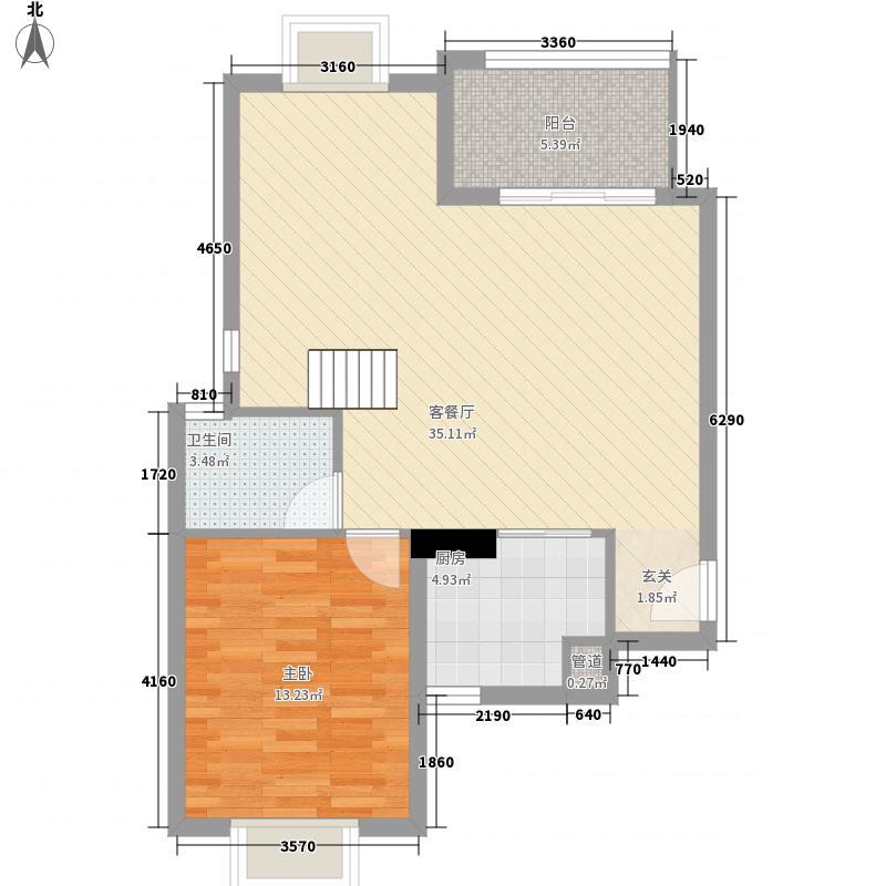 健发・御园175.14㎡健发11#楼C1拼房做户型3室3厅3卫1厨